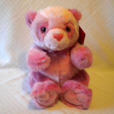 Pink Bear, soft toy by Keel Toys.