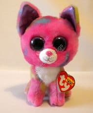 """Ty Beanie Boos, Cancun the Chihuahua, 6"""". Retired September 2015."""