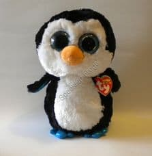 """Ty Beanie Boos, Waddles the Penguin 9"""""""