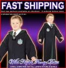 HARRY POTTER DELUXE SLYTHERIN ROBE SMALL AGE 3-4