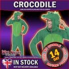 Adult All In One Crocodile Costume