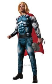"""Adult Deluxe Marvel Thor Costume Extra Large 42-46 """" Chest"""