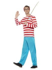 Adult Mens Where's Wally? Costume