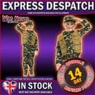Boys Deluxe Army Boy Costume