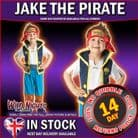 BOYS JAKE & THE NEVERLAND PIRATES ~ PIRATE COSTUME TODDLER AGE 2-3