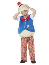 Fairytale -  Humpty Dumpty Toddler Childs Costume