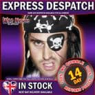FANCY DRESS ACCESSORIES # PIRATE EYEPATCH BLACK / WHITE