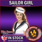FANCY DRESS ACCESSORY # ADULT INSTANT NAUTICAL SAILOR GIRL KIT
