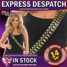 FANCY DRESS ARMY GOLD BULLET SHOULDER BELT