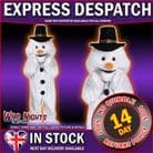 FANCY DRESS COSTUME CHRISTMAS SNOWMAN MASCOT COSTUME