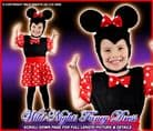 FANCY DRESS COSTUME GIRLS MISSY MOUSE TODDLER AGE 2-3
