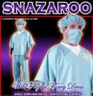 FANCY DRESS COSTUME MENS SURGEON SCRUBS MED/LG