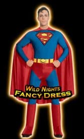 FANCY DRESS COSTUME ~ TRADITIONAL SUPERMAN LARGE