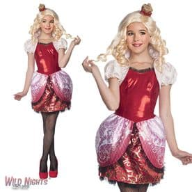 Girls Ever After High Apple White Costume