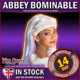Girls Monster High Abbey Bominable Wig