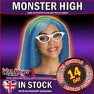 Girls Monster High Ghoulia Yelps Wig