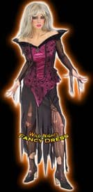 Halloween Ladies Unhappily Ever After Creeping Beauty Costume
