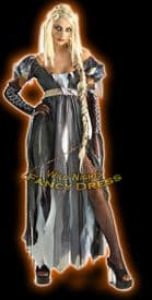 Halloween Ladies Unhappily Ever After R.I.Punzel Costume