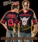 JASON VOORHEES FRIDAY THE 13TH HOCKEY SHIRT+MASK XL/XXL