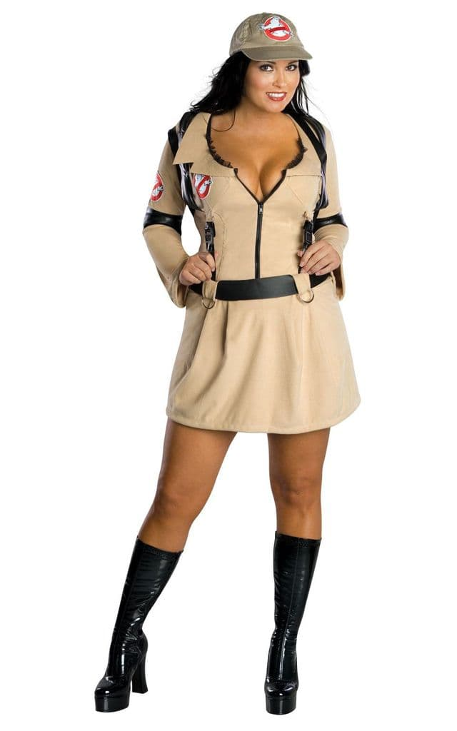 Ladies 1980's Ghostbuster Costume Size 16-18
