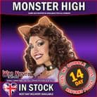 Ladies Adult Monster High Clawdeen Wolf Wig