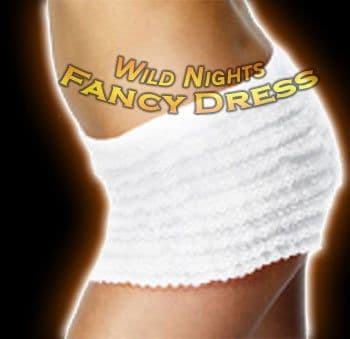 Ladies Fever Frilly Knickers White