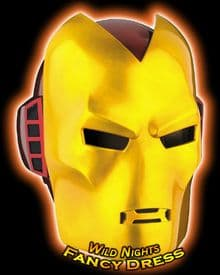 Marvel Adult Deluxe Iron Man Mask