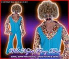 Mens 1970's Disco Groovy Mover Costume