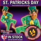 Mens St Patricks ~ Adult Leprechaun Costume Medium