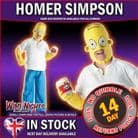 The Simpsons ~ Deluxe Adult Homer Simpson Costume Std