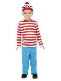 TV & Film -  Where's Wally? Toddler Childs Costume
